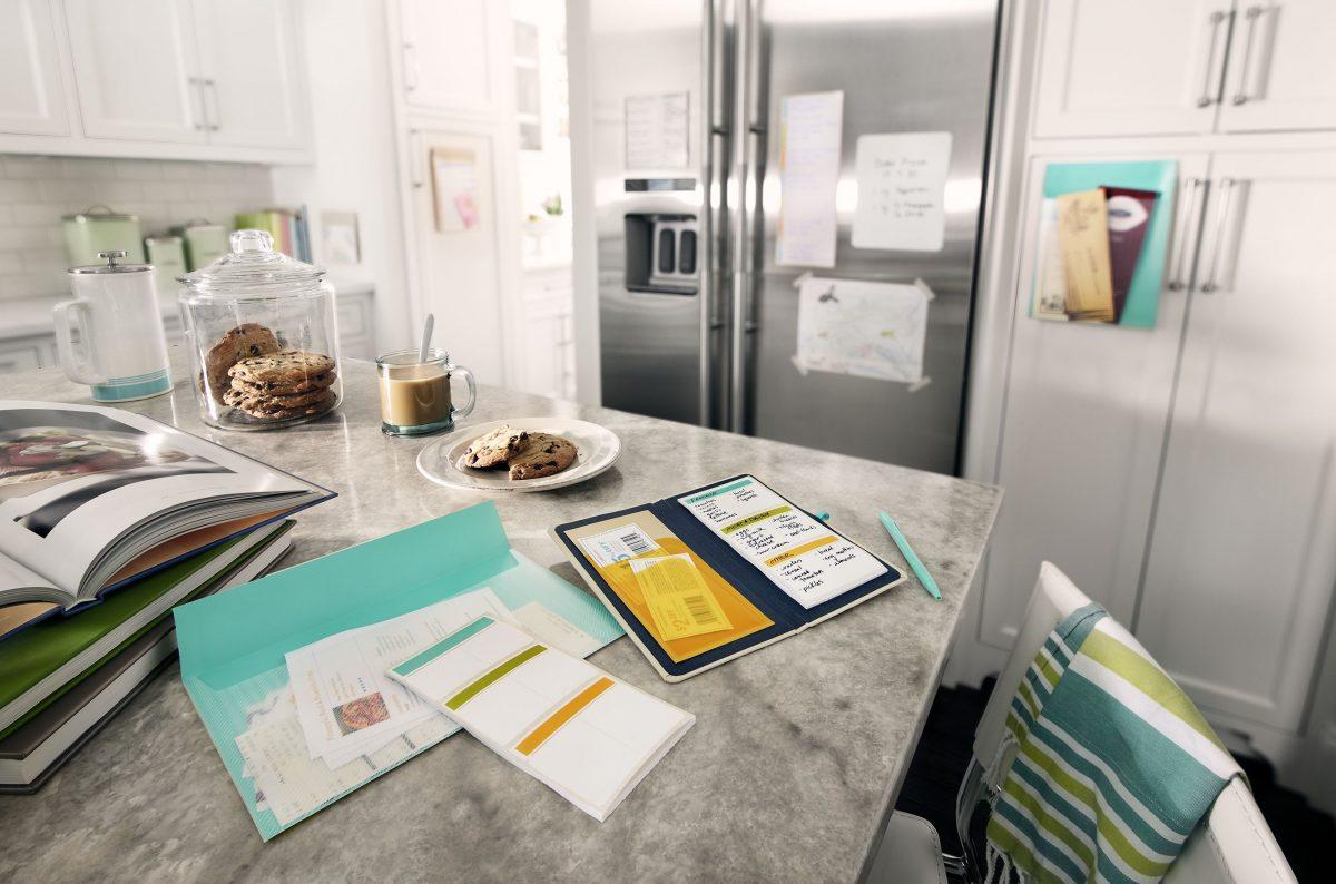 etichette per organizzare casa