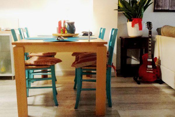 dipingere le sedie di casa