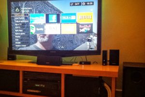 home theater wdtv