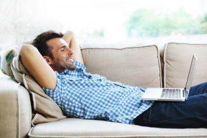 single sul divano