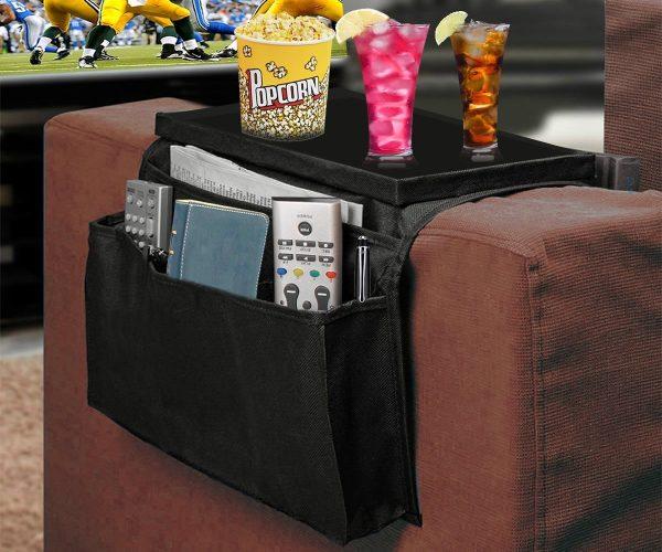 bracciolo portaoggetti da divano