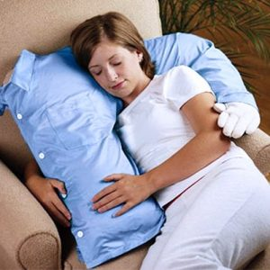 cuscino abbraccio per single