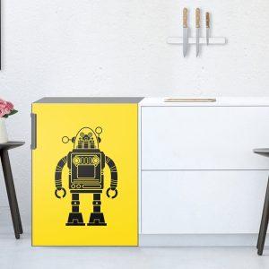 frigorifero pellicola robot
