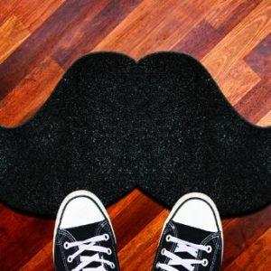 moustache zerbino