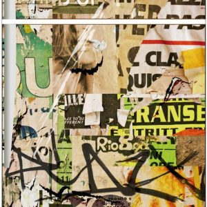 pellicola frigorifero graffiti