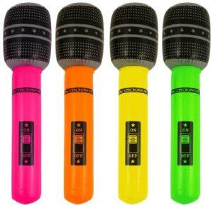 microfono gonfiabile design