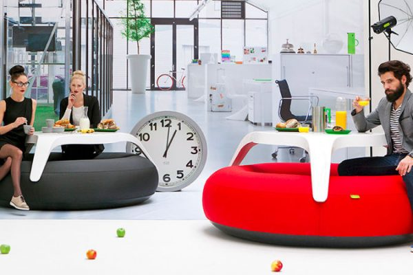 tavolo gonfiabile design