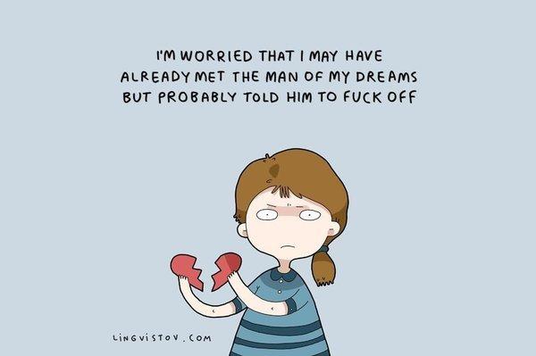 vignette single uomo dei sogni