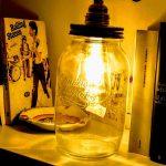 Creare lampade vintage con i barattoli