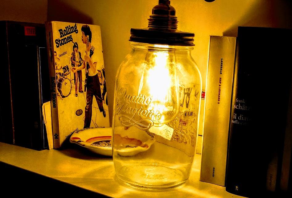 Creare Lampade Vintage Con I Barattoli Vado A Vivere Da Solo
