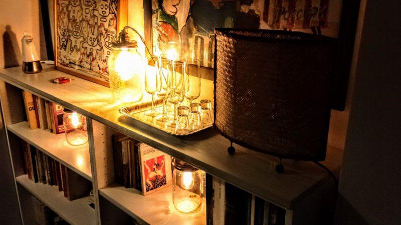illuminazione vintage lampadine