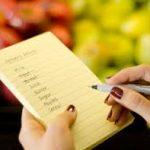 elenco dei propri bisogni