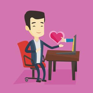 amore su facebook
