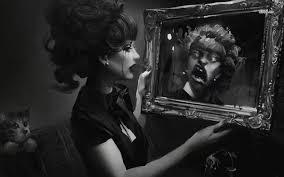 persona allo specchio