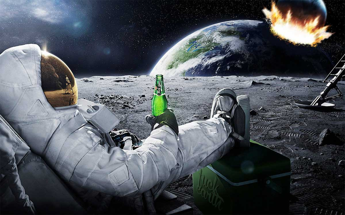astronauta single